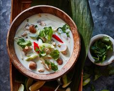 Tom Kha Kai – Thaise Kokossoep met Kip