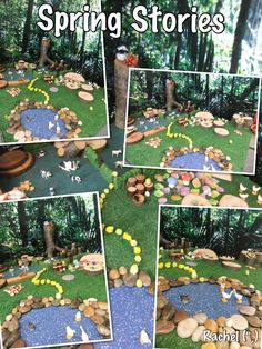 """Spring Small World Play - by Rachel ("""",)"""