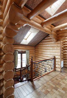 Деревянный дом в силе модерн