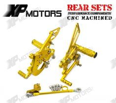 99.98$  Watch here - CNC Racing Rearset Adjustable Rear Sets Foot pegs Fit For Aprilia RSV4 Factory 2009 2010 2011 2012 2013 2014 Gold  #magazineonline
