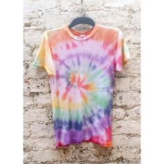 Rainbow Hippie Tie Dye Shirt ALL Sizes Available Tumblr Music Festival Trippy Psychedelic Unisex Tshirt