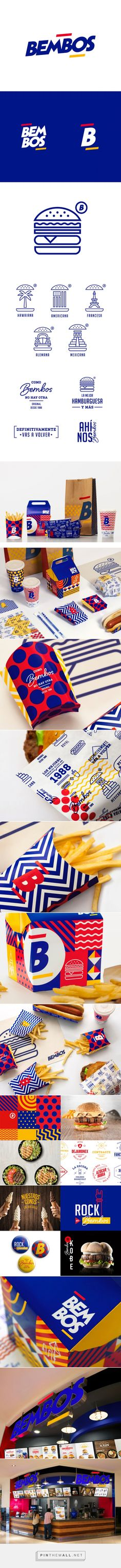 Bembos fastfood packaging designed by Infinito Consultores​ - http://www.packagingoftheworld.com/2015/09/bembos.html
