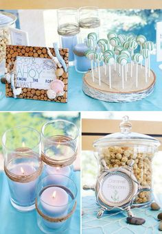 Sweet Decor Ideas For A Nautical-Theme Party | Ramshackle Glam