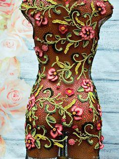 """платье""""Лесная нимфа"""" – купить в интернет-магазине на Ярмарке Мастеров с доставкой"""