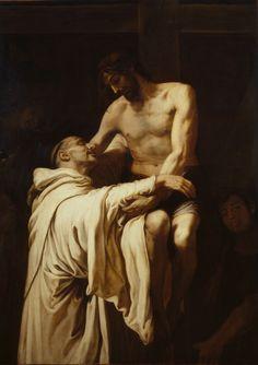 Francisco Ribalta  Christ Embracing Saint Bernard(c. 1626)