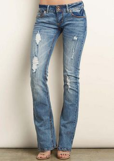 TOPSELLER! Plus Size Jean, Pull On, Elastic Waist $24.77 | Jeans ...