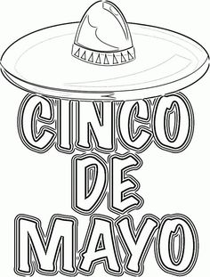167 Free Printable Cinco De Mayo Coloring Pages For Kids