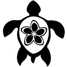 hawaiian turtle clip art
