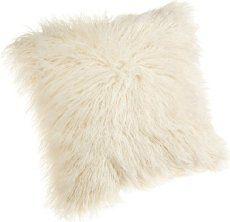 Soft decorative throw pillow