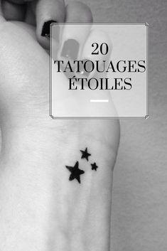 20 tatouages étoiles pour femme