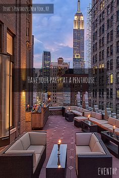Want to host your next party at a penthouse?