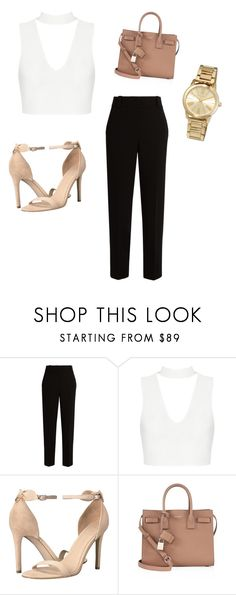 """""""Untitled #91"""" by youmnaalagha on Polyvore featuring The Row, GUESS, Yves Saint Laurent and MICHAEL Michael Kors"""