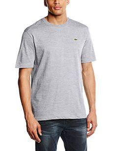 6ac5143e8c5ac8 Lacoste Men's Th7618 Short Sleeve T-Shirt: Amazon.co.uk: Clothing