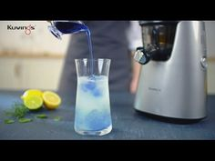 Kuvings Cooking Style : Blue lemonade by Whole Slow Juicer C7000(C9500)