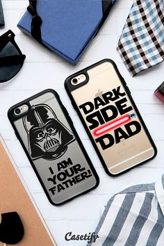 Is your dad a #StarWar's fan? These might just be perfect. Beat the cut off day and shop our #FathersDay collection now >>> https://www.casetify.com/collections/fathers_day#/ | @casetify
