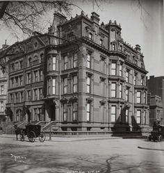 The Lost Bostwick Mansions -- Nos. 800-801 5th Avenue