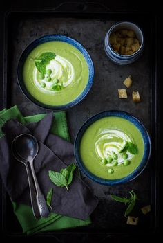 The Bojon Gourmet: Potage St. Germain {Minted Pea and Lettuce Soup}