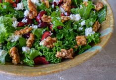 This kale salad kicks things up a notch with the addition of sweet cherries, tangy feta, and candied walnuts. You'll never see kale the same way again. Vegetable Dips, Healthy Vegetable Recipes, Eating Fast, Clean Eating, Healthy Eating, Walnut Recipes, Candied Walnuts, Blueberry Recipes, Sweet Cherries