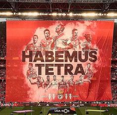⚪ SLBENFICA ⚪ (@_SLBENFICA1904_) | Twitter Football Fans, Typography Poster, Cool Posters, Cool Stuff, Twitter, Stadium Of Light, Club, Football, Pride