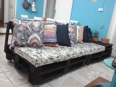 DIY Pallet Sofa Tutorial | 101 Pallet Ideas