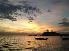 Por do sol em Paquetá