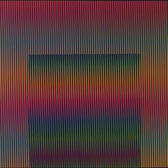 Carlos Cruz-Diez. Untitled. 1987.✖️Fosterginger.Pinterest.Com.✖️More Pins Like This One At FOSTERGINGER @ Pinterest ✖️No Pin Limits✖️