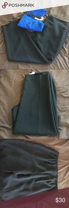 Black Pants Comfortable black business slacks, fully lined. Hidden side zipper with button Jones Studio Pants Trousers