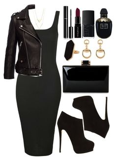 """Untitled #4046"" by natalyasidunova ❤ liked on Polyvore featuring Topshop, Giuseppe Zanotti, Anine Bing, Jaeger, Gucci, Chanel, Smashbox, NARS Cosmetics and Alexander McQueen"