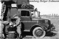 German Army Tatra 92 mobile kitchen
