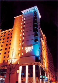 Hotels in Croydon Town Centre   Croydon Hotels   Jurys Inn
