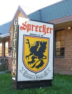 Take a tour of the Sprecher Brewery n Glendale, WI, and for 5 bucks you get to sample 3 different beers and drink all the Sprecher soda you want!