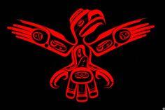 Works of Art Native American Print, American Indians, American Art, Haida Tattoo, Haida Art, Tlingit, Typography Prints, Native Art, First Nations
