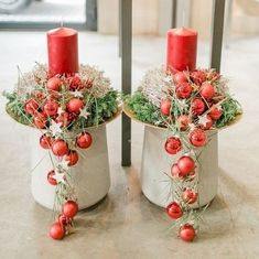 [New] The 10 Best Home Decor (in the World) Christmas Makes, Beautiful Christmas, Christmas Home, Christmas Holidays, Christmas Wreaths, Christmas Ornaments, Christmas Candle Decorations, Christmas Flower Arrangements, Christmas Candles