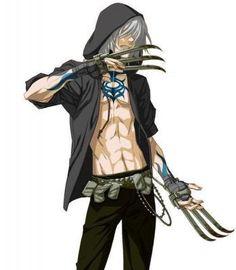 anime guy with tattoos | pin anime guy assassine 349 x 400 17 kb jpeg