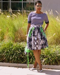 this look from the ModCloth Style Gallery! Cutest community ever. African Inspired Fashion, African Print Fashion, African Prints, African Dresses For Women, African Women, African Beauty, Afro, Diy Clothes And Shoes, Trendy Ankara Styles