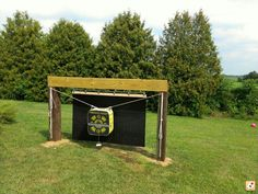 Finished my backstop