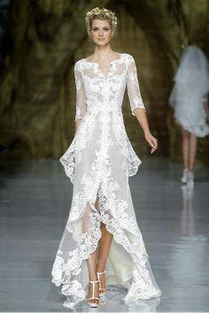 El desfile de Pronovias en la Barcelona Bridal Week 2014