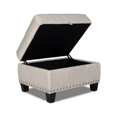 Opulence Home Bradford II Ottoman & Reviews | Wayfair