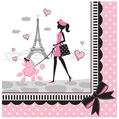Shop for Pink Paris Party Supplies! Find pink Paris-themed decorations, party favors, invitations, and more. Pink Paris, Paris Birthday Parties, Birthday Lunch, Happy Birthday, Girl Birthday, 11th Birthday, Birthday Greetings, Birthday Wishes, Barbie Paris