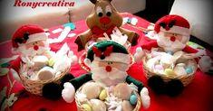 Dulceros de Santa Claus para Navidad