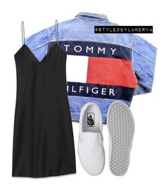 """Untitled #637"" by amanda-lanerva ❤ liked on Polyvore featuring Yves Saint Laurent and Vans"