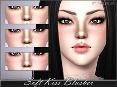 Soft Kiss Blusher by Pralinesims - Sims 3 Downloads CC Caboodle