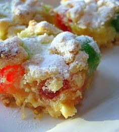 Pineapple Squares | Big Red Kitchen - a regular gathering of distinguished guests