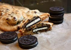Cannella Vita: oreo stuffed chocolate chip cookies