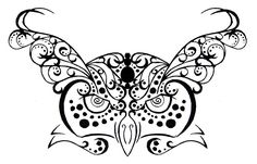 Owl Tribal/Henna Tattoo Design by ~rumpelstilzchen on deviantART
