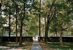 Mill Race Park, downtown Columbus   photo from website of Michael Van Valkenburgh Associates, Inc.