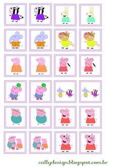 Peppa Pig y familia: Kit imprimible gratis., Peppa Pig y familia: Kit imprimible gratis. , Peppa Pig y familia: Kit imprimible gratis. Peppa Pig Printables, Party Printables, Free Printables, Pig Party, Party Kit, Pig Crafts, Easter Crafts, Peppa Pig Games, Peppa Pig Family