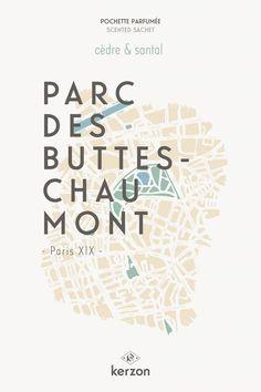 PARC DES BUTTES-CHAUMONT - Pochettes parfumées Kerzon