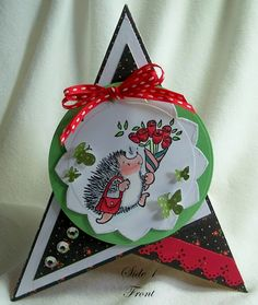Sue's Rubber Stamping Adventures: BSS Monday Idea - TEEPEE Card w' link to tutorial.