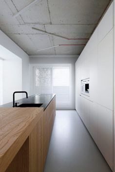 line architects creates 'soft loft' interior in moldova using subtle contrasts Loft Interior Design, Loft Design, Design Studio, Interior Architecture, House Design, Loft Interiors, Industrial Interiors, Industrial Style, Kitchen Industrial